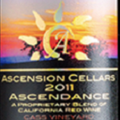 上升酒庄赤霞珠-梅洛干红葡萄酒(Ascension Cellars Cabernet Sauvignon - Merlot, Paso Robles, USA)