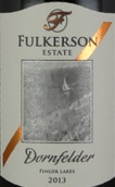 富尔克森酒庄丹菲特干红葡萄酒(Fulkerson Winery Dornfelder,Finger Lakes,USA)
