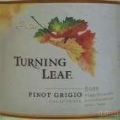叶落珍藏灰皮诺干白葡萄酒(Turning Leaf Vineyards Reserve Pinot Grigio,California,USA)