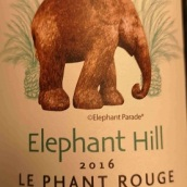 象山干红葡萄酒(Elephant Hill Le Phant Rouge,Hawke's Bay,New Zealand)