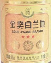 华夏海岸三星金奖白兰地(Huaxia Haian Winery Theer-Star Gold Award Brandy,Yantai,...)