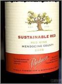 帕尔杜奇可持续干红葡萄酒(Parducci Sustainable Red,Mendocino County,USA)