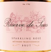 天瑞苏禾堡珍藏桃红起泡酒(Tyrrell's Wines Chateau de Sours Reserve de Sours Sparkling Rose, Bordeaux, France)