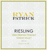 瑞安帕特里克奥尔森兄弟园雷司令干白葡萄酒(Ryan Patrick Olsen Brothers Vineyard Riesling,Yakima Valley,...)