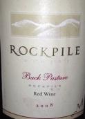 玛丽臣酒庄巴克牧场混酿干红葡萄酒(Mauritson Buck Pasture Red Blend, Rockpile, USA)
