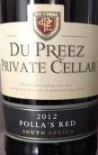 杜佩雷私人珍藏干红葡萄酒(Du Preez Private Cellar Polla's Red, Breedekloof, South Africa)