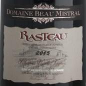 博密斯特拉老藤红葡萄酒(Domaine Beau Mistral Vieilles Vignes Rasteau,France)