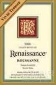 复兴泰勒瓦瑚珊干白葡萄酒(Renaissance Vin de Terroir Roussanne, North Yuba, USA)