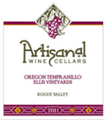 手工霞丹魄干红葡萄酒(Artisanal Tempranillo,Oregon,USA)