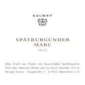 萨尔维酒庄黑皮诺果渣白兰地(Weingut Salwey Spatburgunder Marc Edelbrand,Baden,Germany)