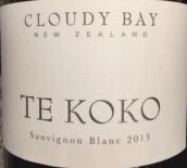 云雾之湾迪科科长相思干白葡萄酒(Cloudy Bay Te Koko Sauvignon Blanc, Marlborough, New Zealand)