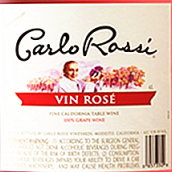 加州乐事桃红葡萄酒(Carlo Rossi Vin Rose,California,USA)