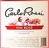 加州乐事桃红葡萄酒(Carlo Rossi Vin Rose,California,USA)