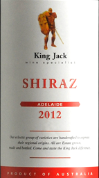 杰克王经典系列西拉干红葡萄酒(木塞)(King Jack Shiraz, Adelaide Hills, Australia (Cork))