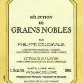 Domaine Philippe Delesvaux Coteaux du Layon Selection de ...