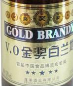 华夏海岸V.O金奖白兰地(Huaxia Haian Winery V.O Gold Award Brandy,Yantai,China)
