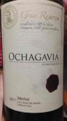 欧查佳维亚顶级珍藏佳美娜干红葡萄酒(Ochagavia Gran Reserva Merlot,Central Valley,Chile)