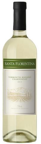 拉里奥哈圣佛罗伦缇娜特浓情-霞多丽白葡萄酒(La Riojana Santa Florentina Torrontes-Chardonnay,Famatina,...)
