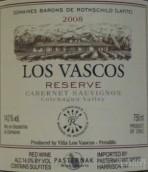 巴斯克酒庄赤霞珠珍藏干红葡萄酒(Los Vascos Reserve Cabernet Sauvignon, Colchagua Valley, Chile)