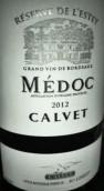 考维酒庄埃斯蒂珍藏干红葡萄酒(Calvet Reserve de l'Estey,Medoc,France)
