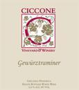 西科尼琼瑶浆干白葡萄酒(Ciccone Vineyard and Winery Gewurztraminer , Leelanau Peninsula, USA)