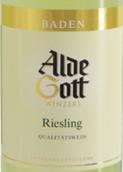 阿尔德·戈特雷司令白葡萄酒(Alde Gott Riesling Qba,Baden,Germany)