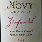 诺威家族帕珀拉园仙粉黛干红葡萄酒(Novy Family Winery Papera Ranch Vineyard Zinfandel,Russian ...)