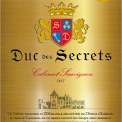 Les Secrets du Duc Cabernet Sauvignon, IGP Pays d'Oc, France