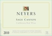 耐尔斯酒庄罗纳尔河谷混酿红葡萄酒(Neyers Vineyards Rhone Blend Sage Canyon Red, California, USA)