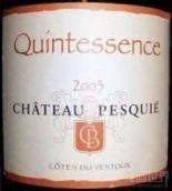 Chateau Pesquie Cotes du Ventoux Quintessence Blanc,Rhone,...