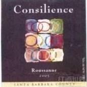 康瑟利恩斯瑚珊干白葡萄酒(Consilience Roussanne,Santa Barbara County,USA)