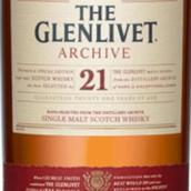格兰威特档案21年苏格兰单一麦芽威士忌(The Glenlivet Archive 21 Years of Age Single Malt Scotch ...)