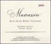 玛尔卡森蓝色滑脊黑皮诺干红葡萄酒(Marcassin Blue Slide Ridge Pinot Noir,Sonoma Coast,USA)