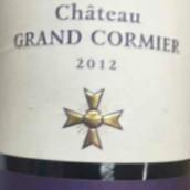 格兰科米尔干红葡萄酒(Chateau Grand Cormier,Lalande de Pomerol,France)