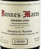 卢米酒庄(波内玛尔特级园)红葡萄酒(Domaine G.Roumier Bonnes-Mares Grand Cru,Cote de Nuits,...)