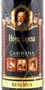 奥亚艾斯佩莎珍藏干红葡萄酒(Hoya Espesa Reserva,Carinena,Spain)