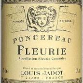 路易亚都澎榭庄福乐里红葡萄酒(Louis Jadot Chateau de Poncie Fleurie,Beaujolais,France)