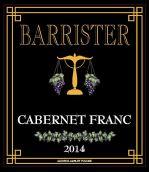 律师品丽珠干红葡萄酒(Barrister Winery Cabernet Franc, Columbia Valley, USA)
