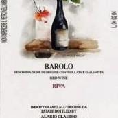 艾拉里奥克鲁迪奥酒庄巴罗洛干红葡萄酒(Alario Claudio Barolo Verduno Riva,Barolo DOCG,Italy)