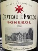 佩特围场庄园干红葡萄酒(Le Petit Enclos, Pomerol, France)