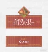 快乐山酒庄波尔多风甜红葡萄酒(Mount Pleasant Estates Claret,Missouri,USA)