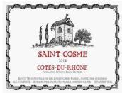 圣戈斯酒庄圣戈斯红葡萄酒(Chateau de Saint Cosme Rouge, Cotes du Rhone, France)