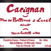 美景园佳丽酿干红葡萄酒(Domaine le Clos de Bellevue Carignan,Lunel,France)