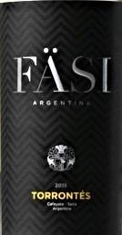 法丝特浓情干白葡萄酒(Fasi Estate Winery Torrontes, Cafayate, Argentina)