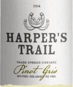 哈珀小径灰皮诺干白葡萄酒(Harper'sTrail Pinot Gris,British Columbia,Canada)