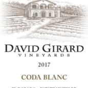 大卫吉拉德科达混酿干白葡萄酒(David Girard Vineyard coda Blanc Rhone-style White Blend,El ...)