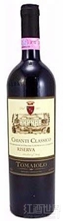 塔梅奥洛珍藏干红葡萄酒(Tomaiolo Riserva,Chianti Classico,Italy)