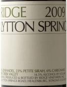 山脊酒庄利顿之春干红葡萄酒(Ridge Lytton Springs,Dry Creek Valley,USA)