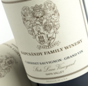 卡布桑迪里园赤霞珠干红葡萄酒(Kapcsandy Family Winery State Lane Vineyard Grand-Vin ...)