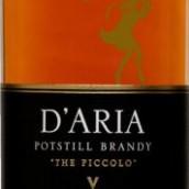 达里亚短笛鸽笼白白兰地(D'Aria Potstill The Piccolo Colombar Brandy,Western Cape,...)